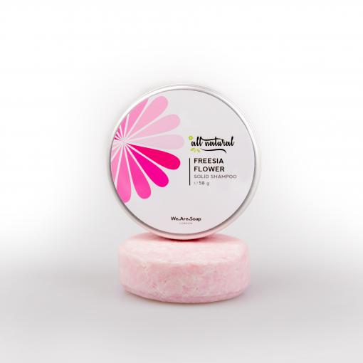 Freesia Flower Solid Shampoo