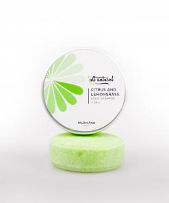 Citrus Lemongrass Solid Shampoo