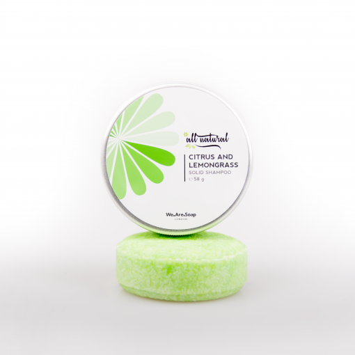 Citrus Lemongrass Solid Shampoo