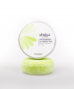 Peppermint & Green Tea Solid Shampoo