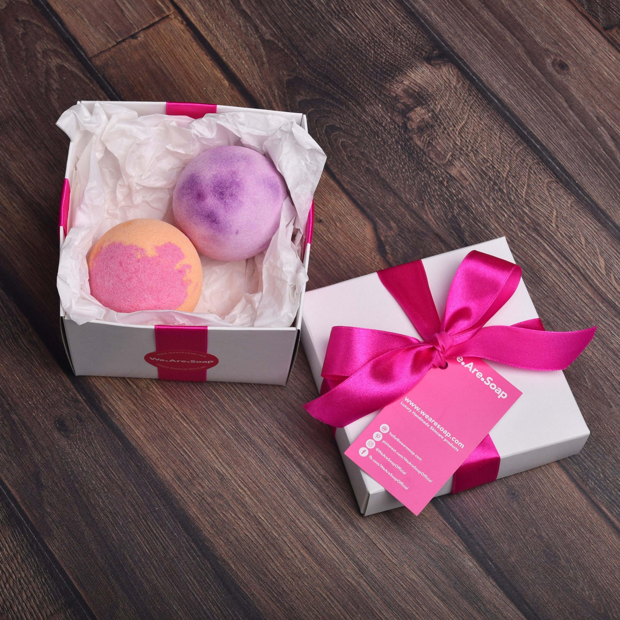 Luxury Bath Bomb Gift Box Luxury Bath Experience Handmade Handmade Moisturizing Vegan