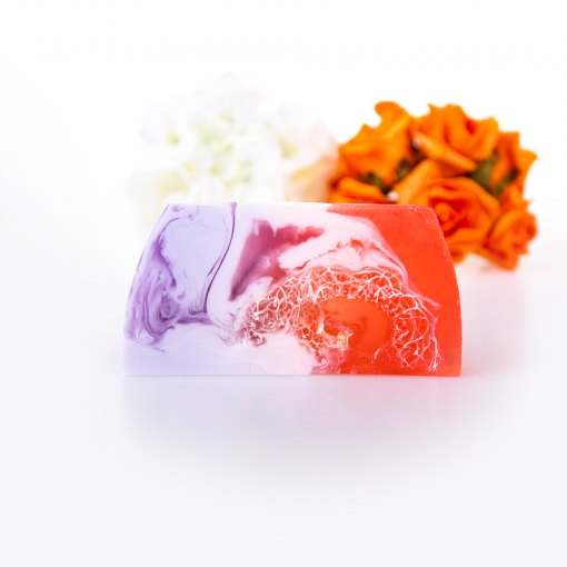 Downtown Girl Luxury Soap Bar with Loofah