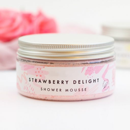 Strawberry Kiss Shower Mousse