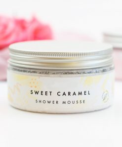 Milk and Caramel Shower Mousse