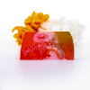 Lily Blossom Luxury Soap Bar with Loofah