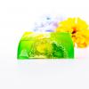 Romantic Orient Jasmine Luxury Soap Bar with Loofah
