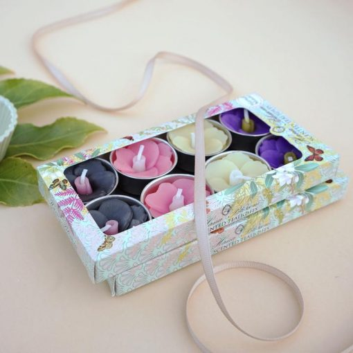 Pansy Scented Tealights